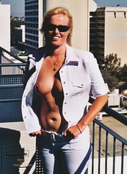 Pic #3 - 1st Time Aussie Blonde Babe