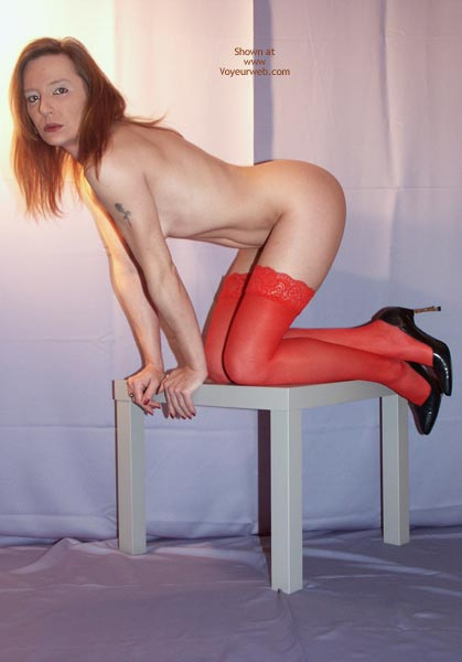 Pic #2 - Susy Rocks In Red Stockings