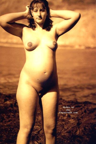 Pic #5 - sindy pregnant @ the beach I