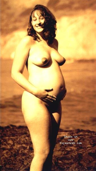 Pic #9 - sindy pregnant @ the beach I