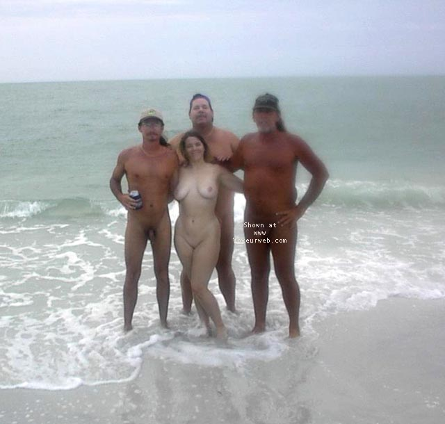 Pic #1 - Florida Nudist...A day at the Beach