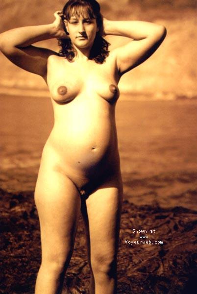 Pic #1 - Sindy Pregnant@the Beach 4