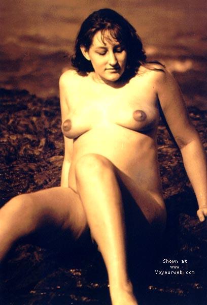 Pic #9 - Sindy Pregnant@the Beach 4