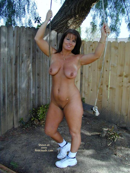 Pic #8 - Tm Doing Yard Work Nude