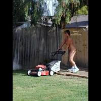 Nude Gardening - Naked Girl
