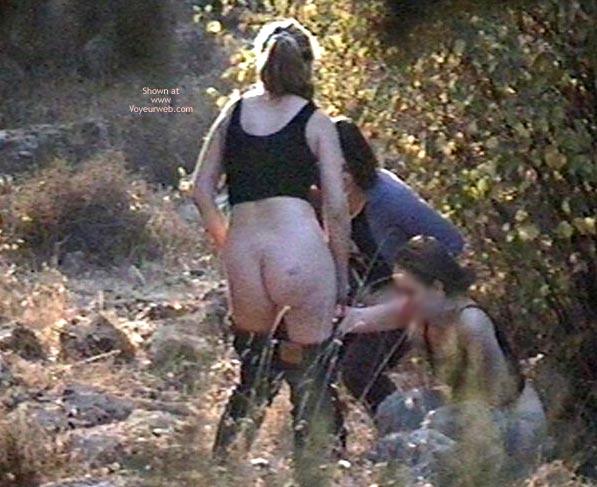 Pic #4 - 3 Voyeured Peeing Girl