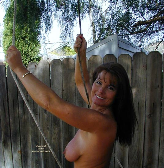 Pic #9 - Tm Does More Yard Work Nude