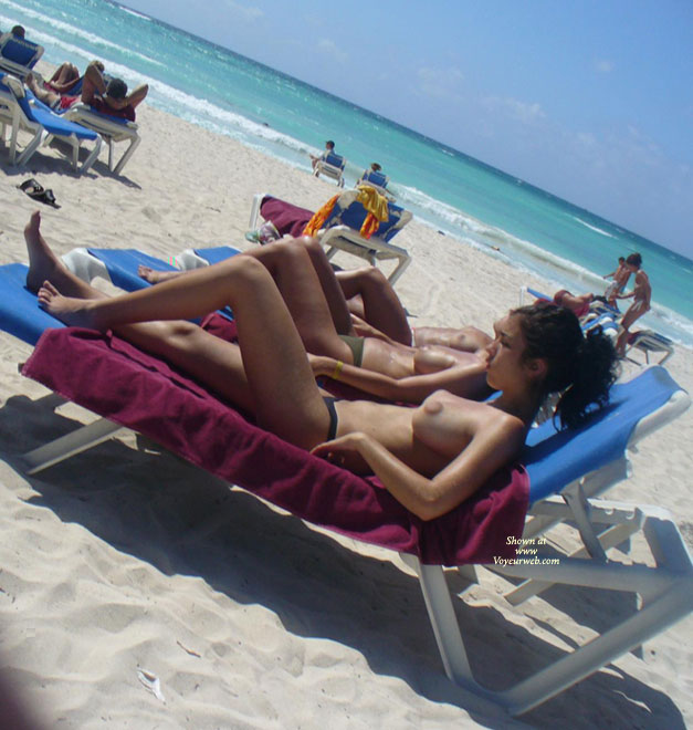 Pic #9 Perky Breasts On The Beach