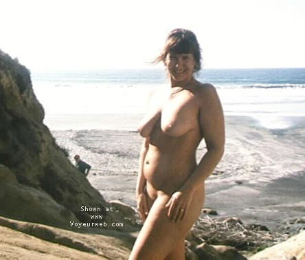 Pic #7 - PURPLE PATTY AT NUDE BEACH #2