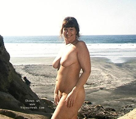 Pic #8 - PURPLE PATTY AT NUDE BEACH #2