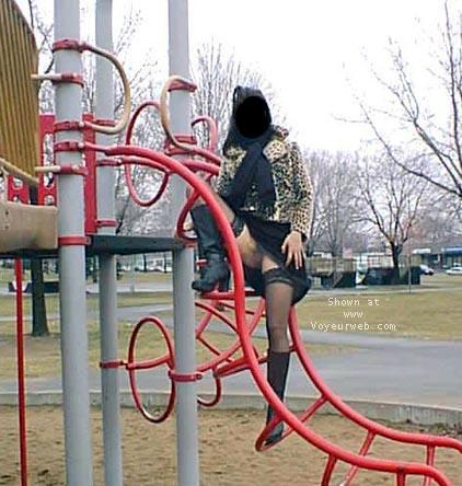 Pic #3 - Slappy in the park