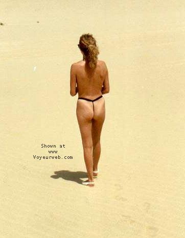 Pic #7 - Wendie in Thong
