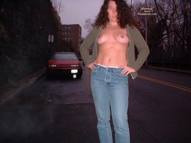 Pic #2 - Playing In Traffic!