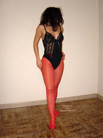 Pic #1 - Dancing In Red Stockings