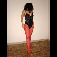 Dancing In Red Stockings