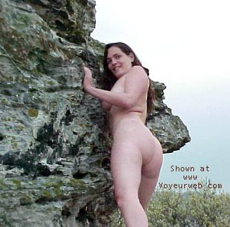 Pic #2 - Alli on the rocks