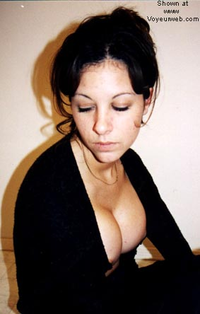Pic #9 - Proud of her 19yo breasts