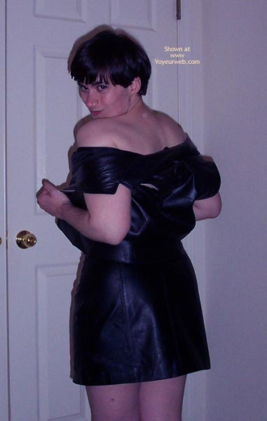 Pic #6 - First Time - Leather