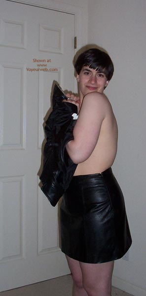 Pic #9 - First Time - Leather