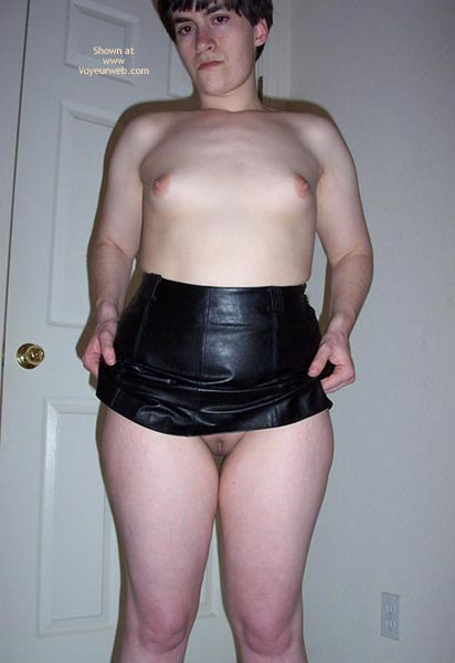 Pic #8 - First Time - Leather Contd....