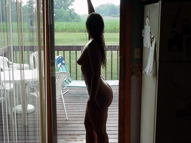 Pic #1 - Naked Profile , Naked Profile, Nude On Veranda, Silouet, Back Deck Farm Yard, Porch