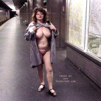 Jenny nude in the city