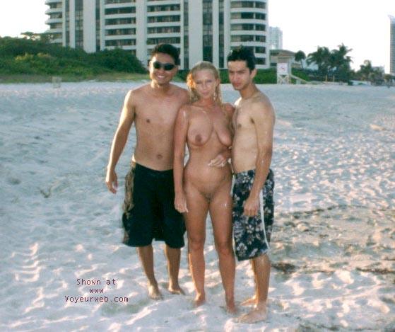 Pic #10 - Alysha At The Beach