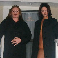 Bad Girls In Black Trench Coats