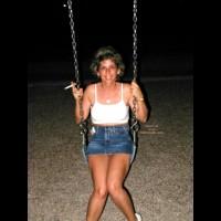 Liz Fun In The Park