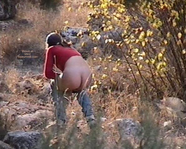 Pic #1 - Girl make pee in the park