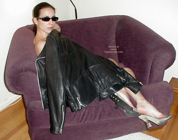 Pic #8 - *Bo Sexysunglasses: Black Leather Jacket