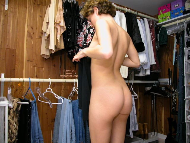 Pic #7 - Yevette Picking Out An Outfit