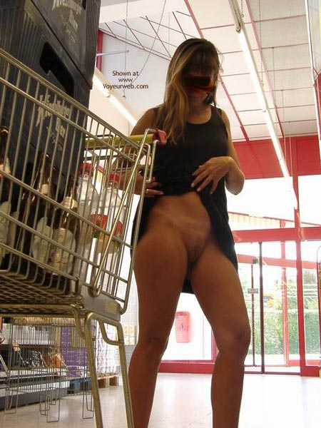 Pic #2 - At A Supermarket