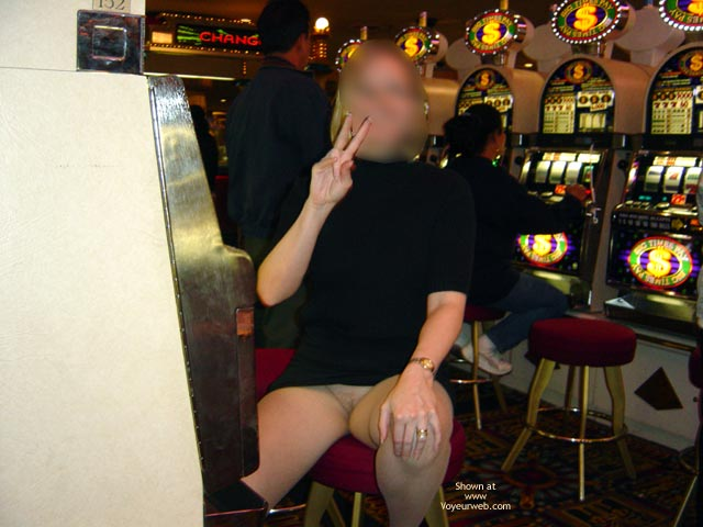 Pic #5 - Wife Displayed In Casino