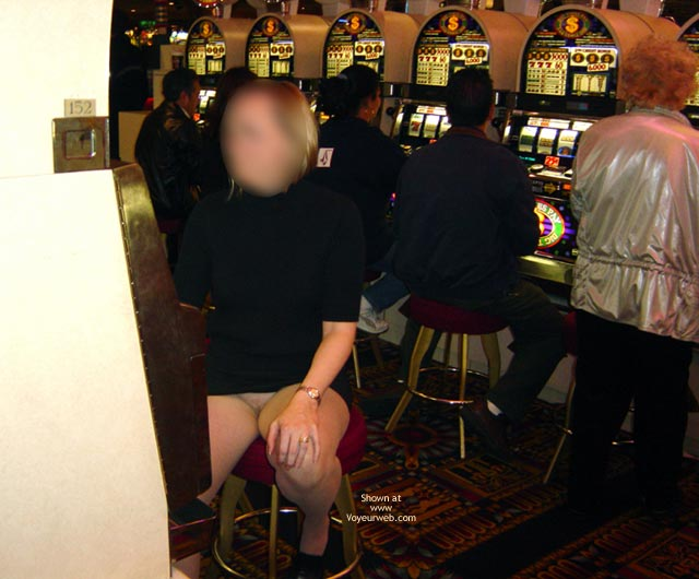 Pic #8 - Wife Displayed In Casino