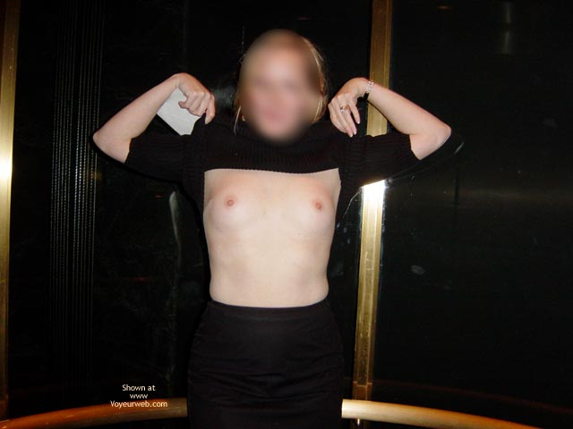 Pic #9 - Wife Displayed In Casino