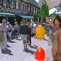 Partial Nude In Public - Exposed In Public, Nude In Public