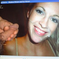 M* Blond1 - Jacking Off To Her Old Pictures