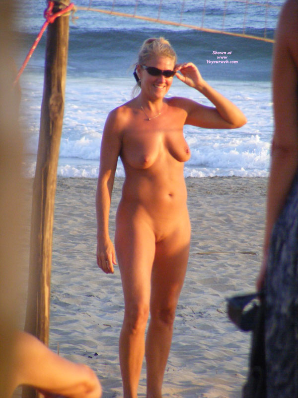 Junior nudist full frontal at beach think, that