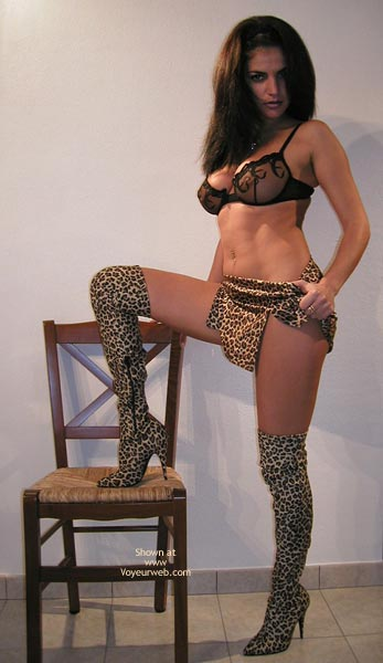 Pic #1 - Vanessa In Leopard Boots