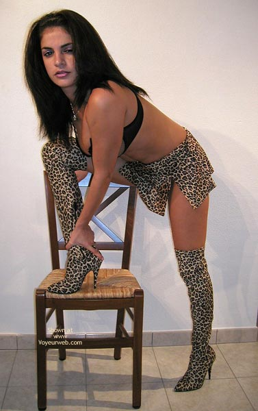 Pic #2 - Vanessa In Leopard Boots