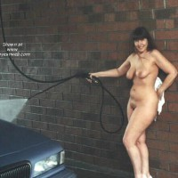 PurplePattyNewestCarwash#2Nude