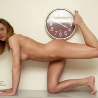 Susy Rocks....Just Naked On The Sideboard