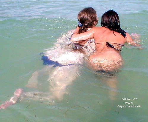 Pic #3 - Alantha and Cherokee at the beach (2)
