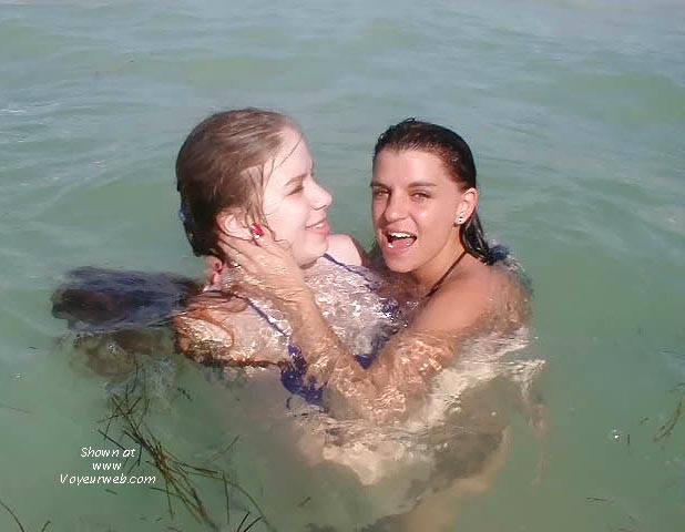 Pic #5 - Alantha and Cherokee at the beach (2)
