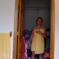 Yellow Towel Strip