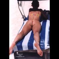 wife in various thong bikinis