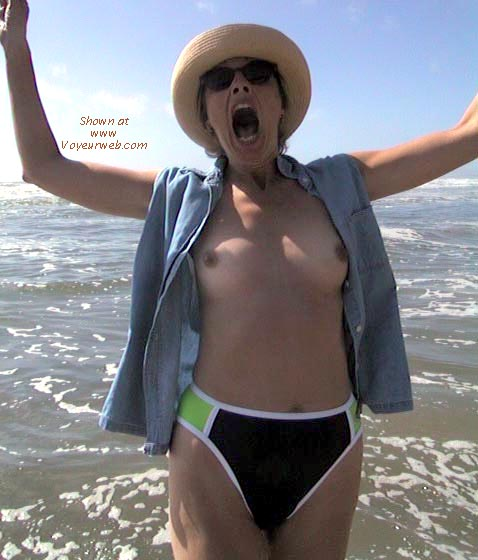 Pic #1 - Bobbi at the Beach