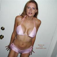 Lexi 21 Yo Blonde Bikini Strip!