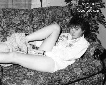Pic #2 - Ex-GF in her flat